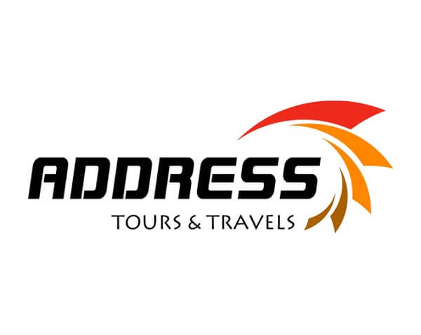 Address Tours and Travels - Logo Design