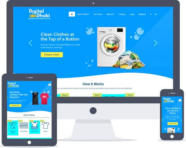 Digital Dhobi - Website Design, Web Development, Branding